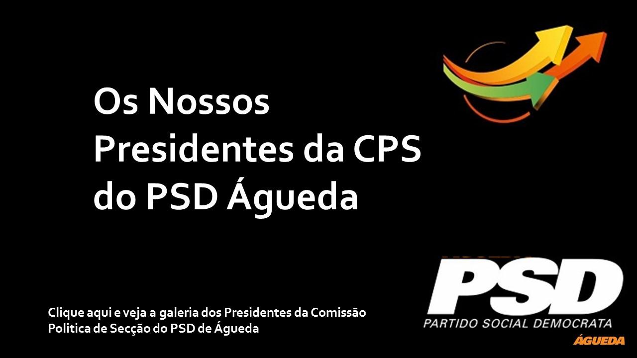 Lista de Presidentes da Comissão Politica do PSD