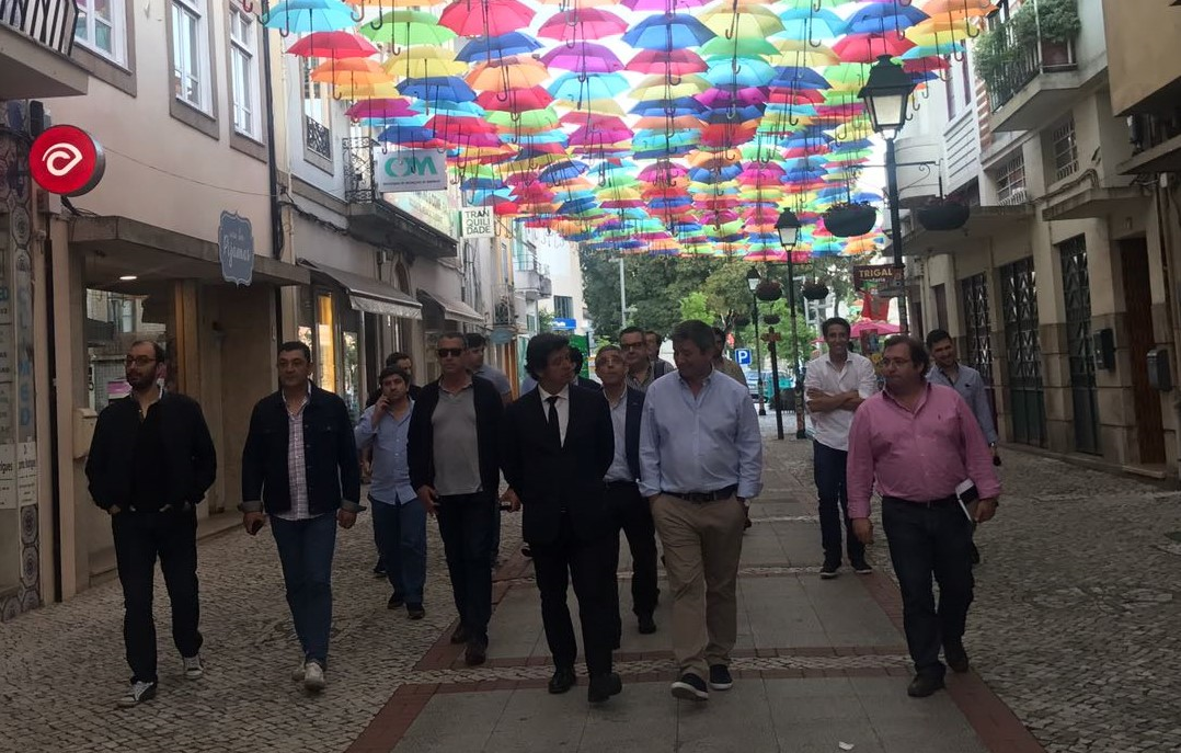 Salvador Malheiro esteve em Águeda
