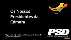 Lista de Presidentes da Câmara Municipal de Águeda eleitos pelo PSD